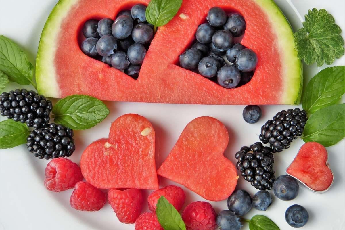 Luglio: frutta e verdura di stagione