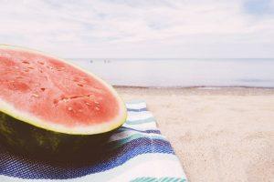 La frutta e la verdura di stagione ad agosto