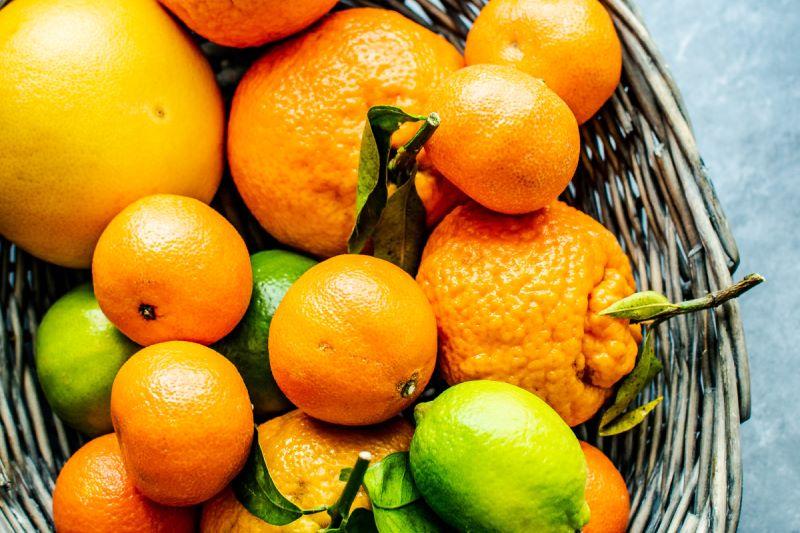 Arance, limoni e mandarini