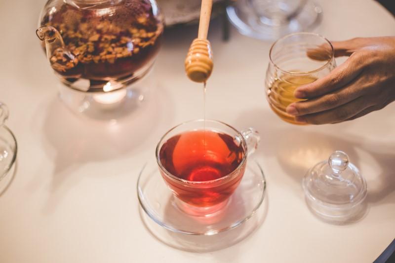 Miele utilizzato come dolcificante
