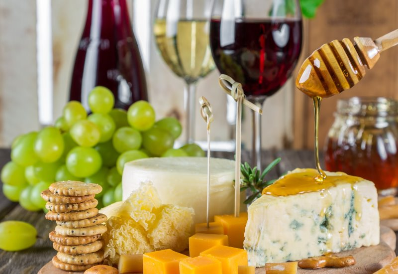 Miele con formaggio