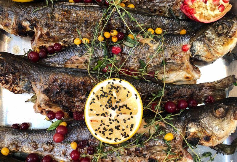 Limone e pesce