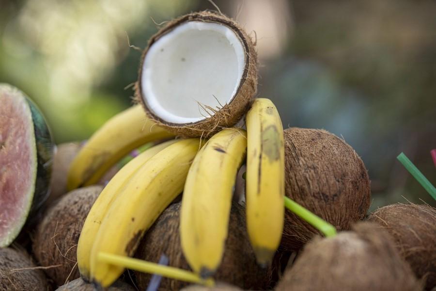 Banane e cocco