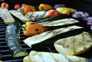 Taglio verdure a fette lunghe
