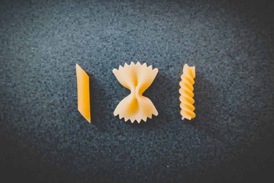 Tipi di pasta corta
