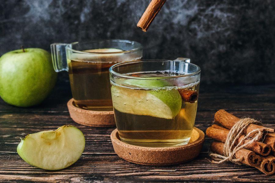 Tisana cannella e mela