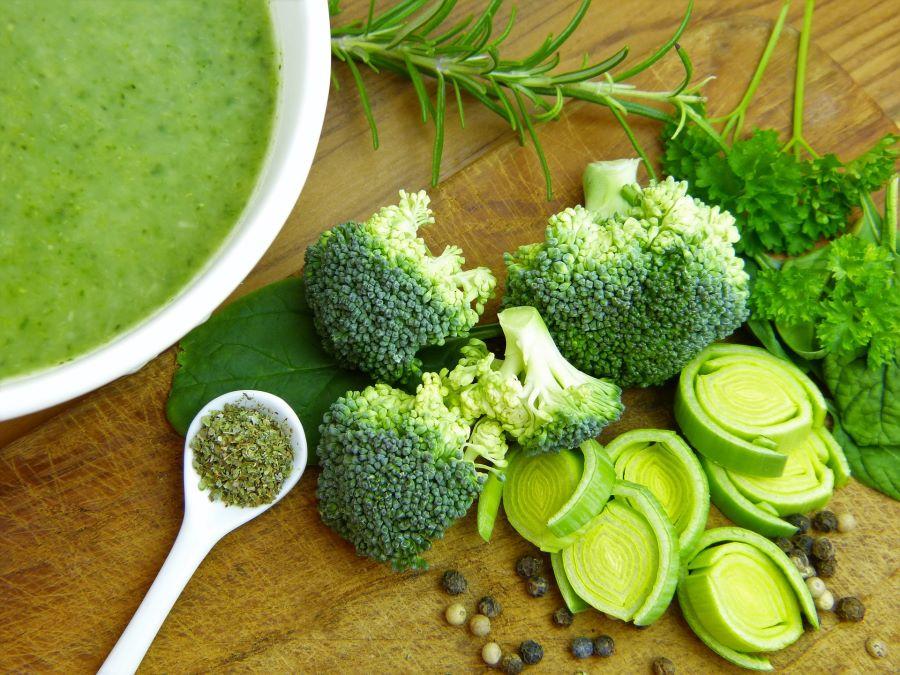 Zuppa porro e broccoli
