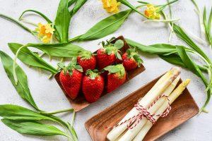 Frutta e verdura ad aprile