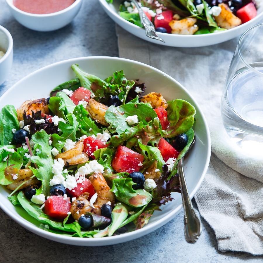 Pranzo detox: insalata mista