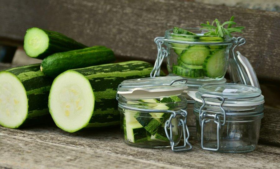 Conservare le zucchine in barattolo