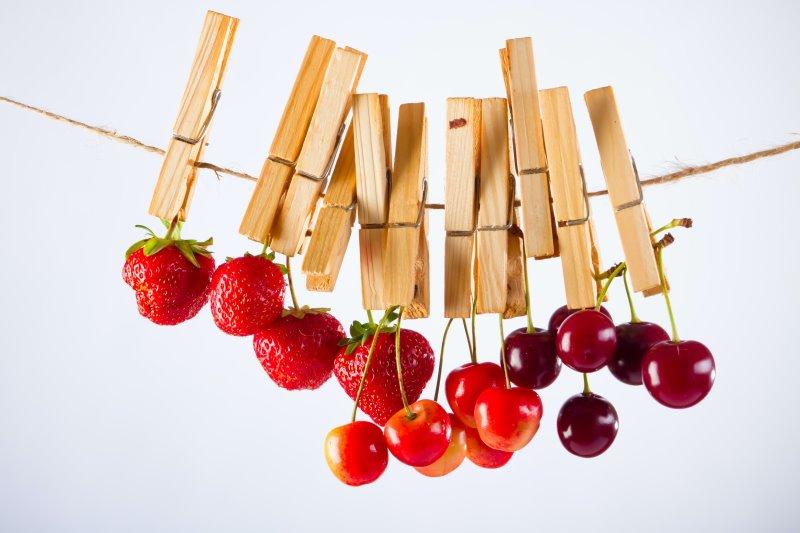 Fragole e ciliegie