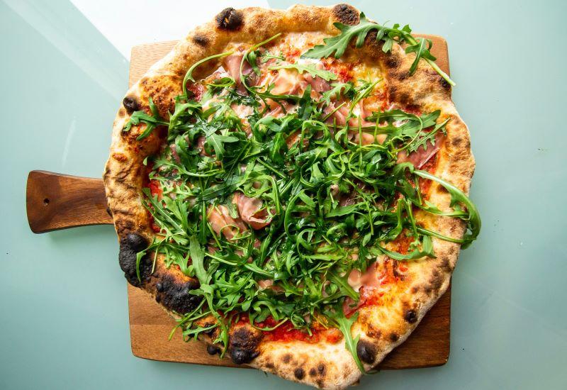 Pizza alla rucola