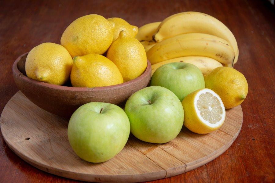 Come non far annerire la frutta con il succo di limone