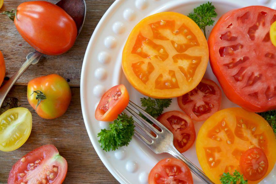 Verdura estiva: pomodori