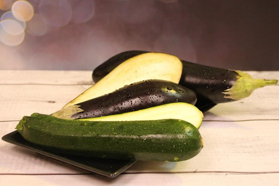 Verdura estiva: zucchine e melanzane